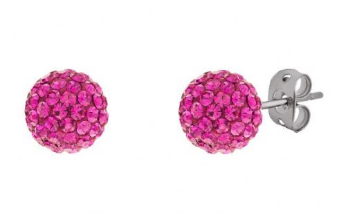 Tresor Paris 6mm Pink Small BonBon Stud Earrings
